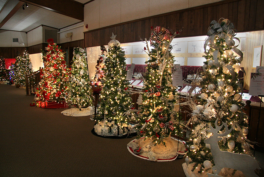 Warthers Christmas Tree Festival 2020 The Christmas Tree Festival at the Warther Museum | CompassOhio