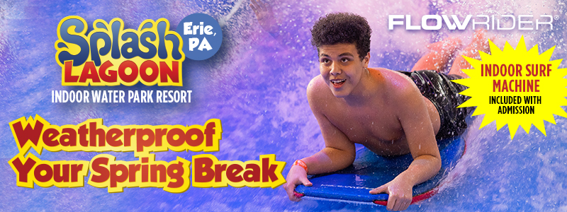 Splash Lagoon: Weatherproof your spring break!
